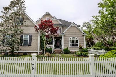 Wilmington Single Family Home For Sale: 2126 Deer Island Lane