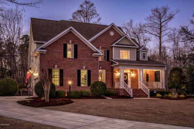 New Bern Single Family Home For Sale: 122 Lugano Road