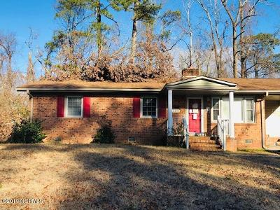 Jacksonville Single Family Home For Sale: 109 Marion Court