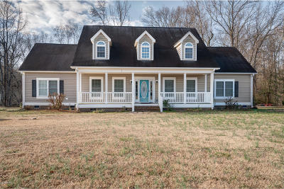 Rocky Mount Single Family Home For Sale: 6283 Harrisontown Road