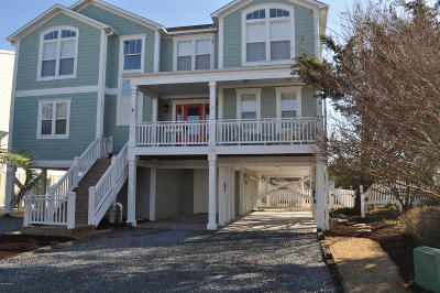 Holden Beach Single Family Home For Sale: 136 Carolina Avenue