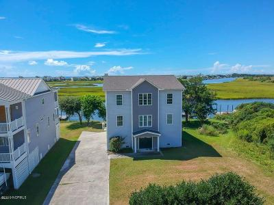 Oak Island Single Family Home For Sale: 115 W Island Drive