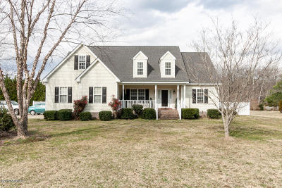 Rocky Mount Single Family Home For Sale: 7702 Mill Branch Road
