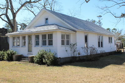 Beaufort Single Family Home For Sale: 831 Nc Highway 101