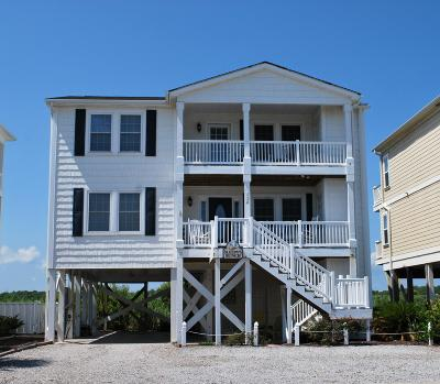 Holden Beach Single Family Home For Sale: 624 Ocean Boulevard W