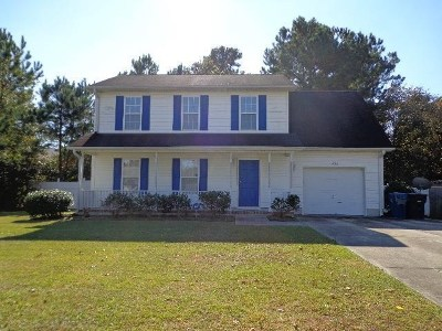 Jacksonville Rental For Rent: 402 Huff Drive