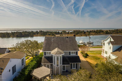 Beaufort NC Single Family Home For Sale: $2,100,000