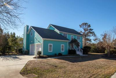 Emerald Isle Single Family Home For Sale: 201 Sandfiddler E