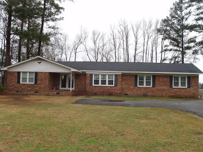 Farmville Single Family Home For Sale: 3669 Hillcrest Drive