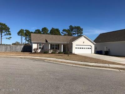 Holly Ridge Single Family Home For Sale: 414 Tree Court