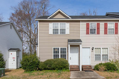 Onslow County Condo/Townhouse Active Contingent: 360 Bracken Place