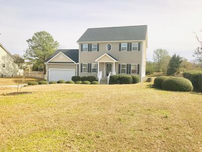 Swansboro Single Family Home For Sale: 108 Lydia Drive