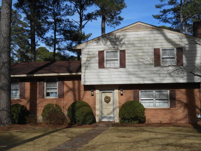 Rocky Mount Single Family Home For Sale: 208 Oakdale Road