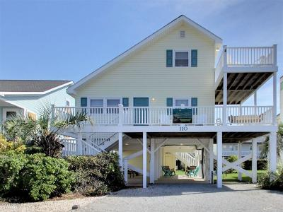 Holden Beach Single Family Home For Sale: 110 Sunshine