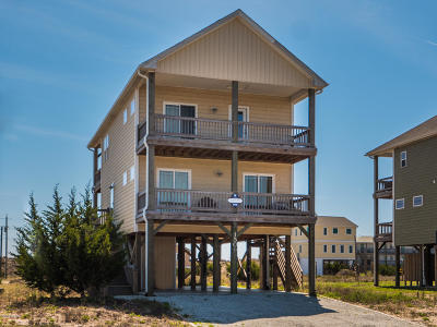 Topsail Beach Single Family Home For Sale: 1509 S Anderson Boulevard