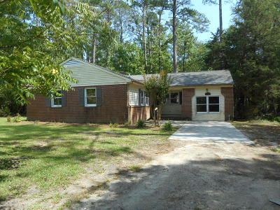 Newport NC Single Family Home For Sale: $51,900