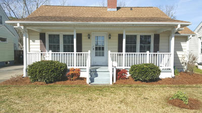Beaufort Single Family Home For Sale: 1005 Live Oak Street