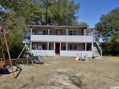 Tabor City Multi Family Home For Sale: 209 E Bell Street