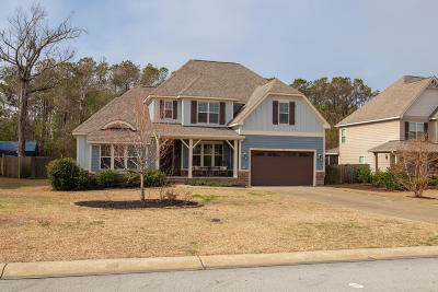 Cedar Point NC Single Family Home For Sale: $360,000