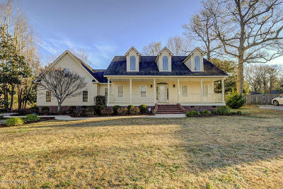 Wilmington Single Family Home For Sale: 122 Rich Inlet Drive