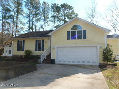 New Bern NC Single Family Home For Sale: $150,000