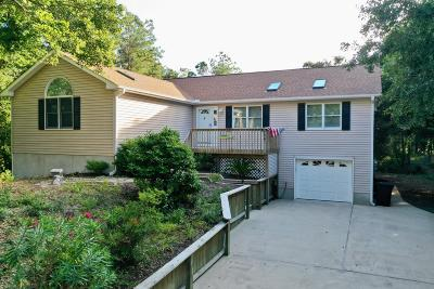 Pine Knoll Shores NC Single Family Home For Sale: $439,000