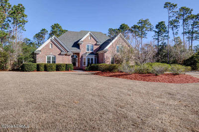Wilmington NC Single Family Home For Sale: $610,000