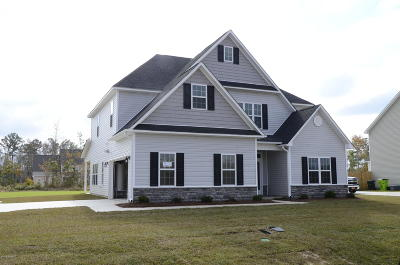 New Bern NC Single Family Home For Sale: $285,250