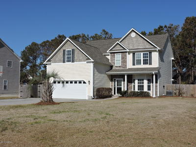 Newport Single Family Home For Sale: 122 Hickory Shores Drive