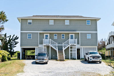 Carteret County Single Family Home For Sale: 5309 Ocean Drive #E
