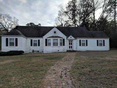 Nash County Single Family Home For Sale: 1331 Western Avenue
