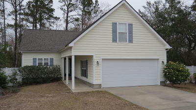 Southport Single Family Home For Sale: 5046 Glen Cove Drive SE