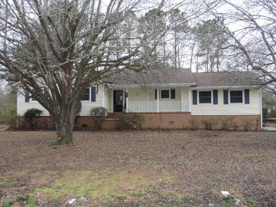 New Bern NC Single Family Home For Sale: $65,000
