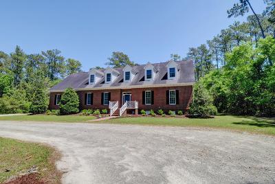 Wilmington Single Family Home For Sale: 7231 Masonboro Sound Road