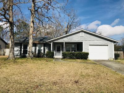 Jacksonville Single Family Home For Sale: 1011 Massey Road