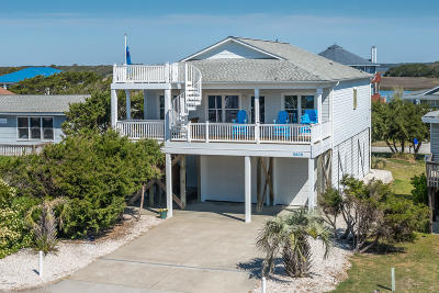 Oak Island Single Family Home For Sale: 5408 W Beach Drive