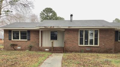 Greenville Single Family Home For Sale: 103 Allendale Drive