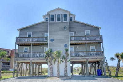 North Topsail Beach, Surf City, Topsail Beach Single Family Home For Sale: 1800 New River Inlet Road
