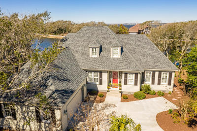 Pine Knoll Shores Single Family Home For Sale: 520 Egret Lake Drive