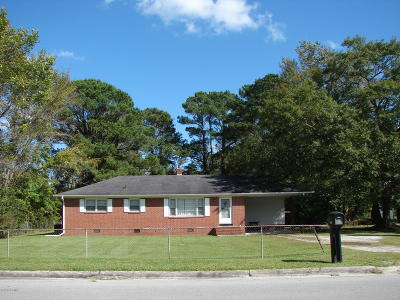 Jacksonville Single Family Home For Sale: 3632 Richlands Highway
