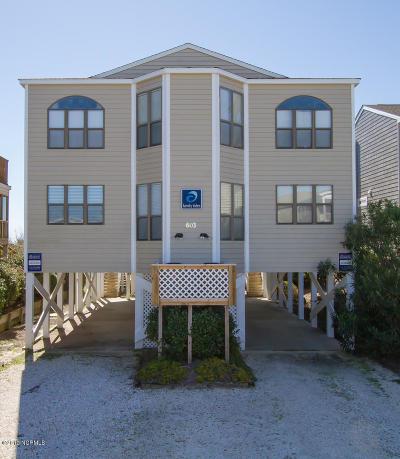 Sunset Beach Condo/Townhouse For Sale: 603 W Main Street #A