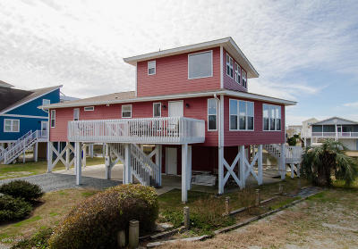 Ocean Isle Beach Single Family Home For Sale: 33 Duneside Drive