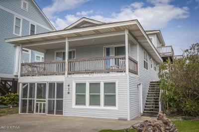 Oak Island Single Family Home For Sale: 5416 W Beach Drive