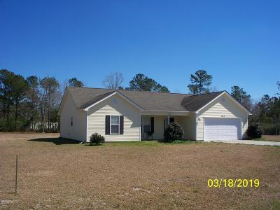 Onslow County Single Family Home For Sale: 207 Scout Lane