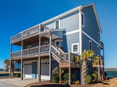 North Topsail Beach, Surf City, Topsail Beach Single Family Home For Sale: 918 Bumble Bee Lane