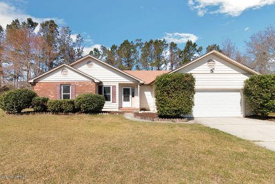 Onslow County Single Family Home For Sale: 403 Smoke Tree Place