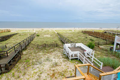Kure Beach Condo/Townhouse For Sale: 329 Fort Fisher Boulevard S