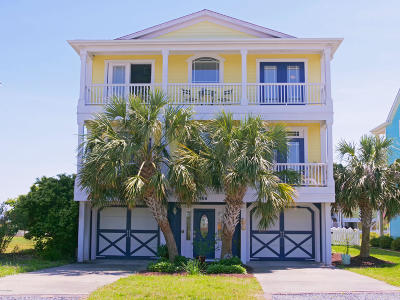 Holden Beach Island, Holden Beach Mainland Single Family Home For Sale: 166 Brunswick Avenue E
