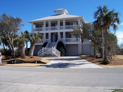 North Topsail Beach, Surf City, Topsail Beach Single Family Home For Sale: 8 Osprey Drive