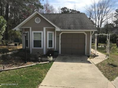 Calabash Single Family Home For Sale: 1120 Hidden Way